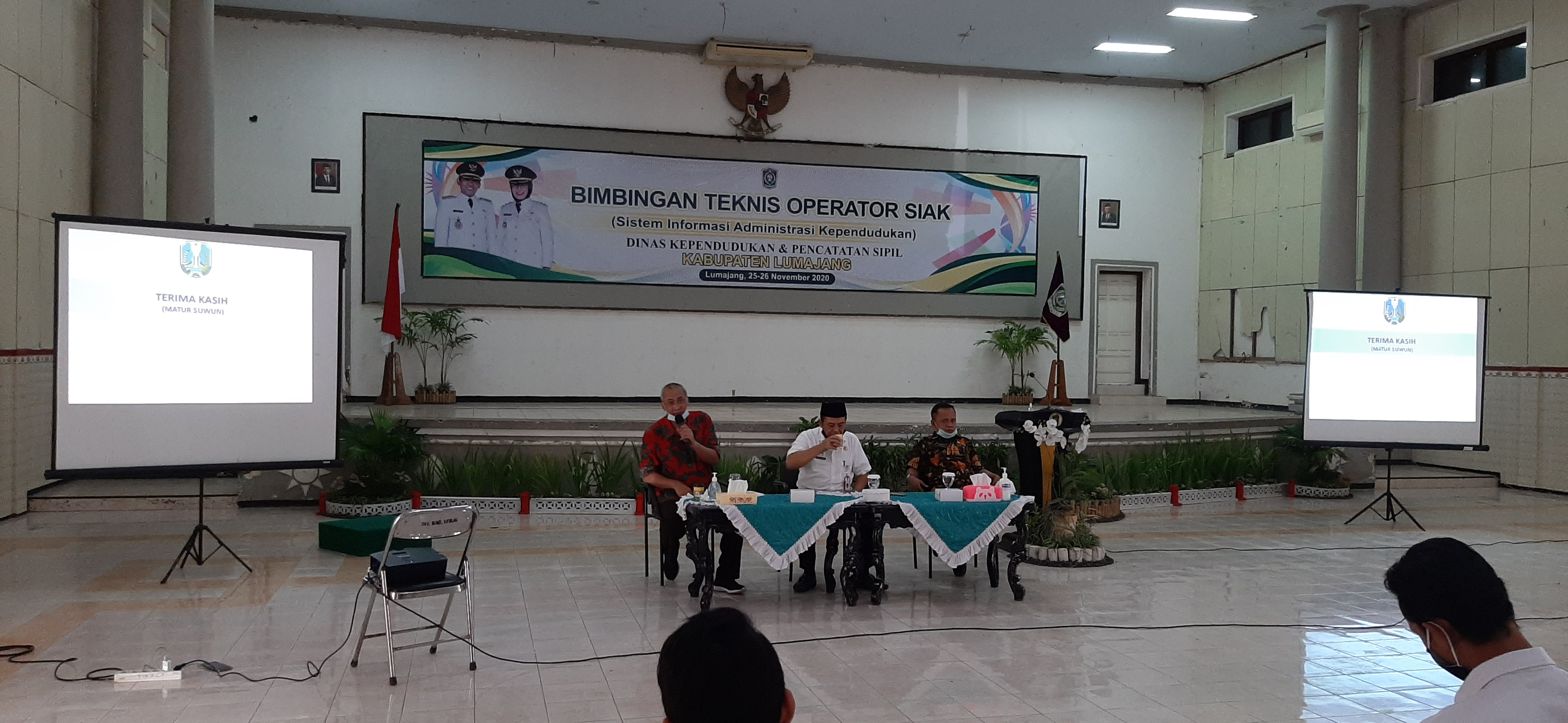 Bimtek Operator Sistem Informasi Administrasi Kependudukan (SIAK) Kabupaten Lumajang Tahun 2020