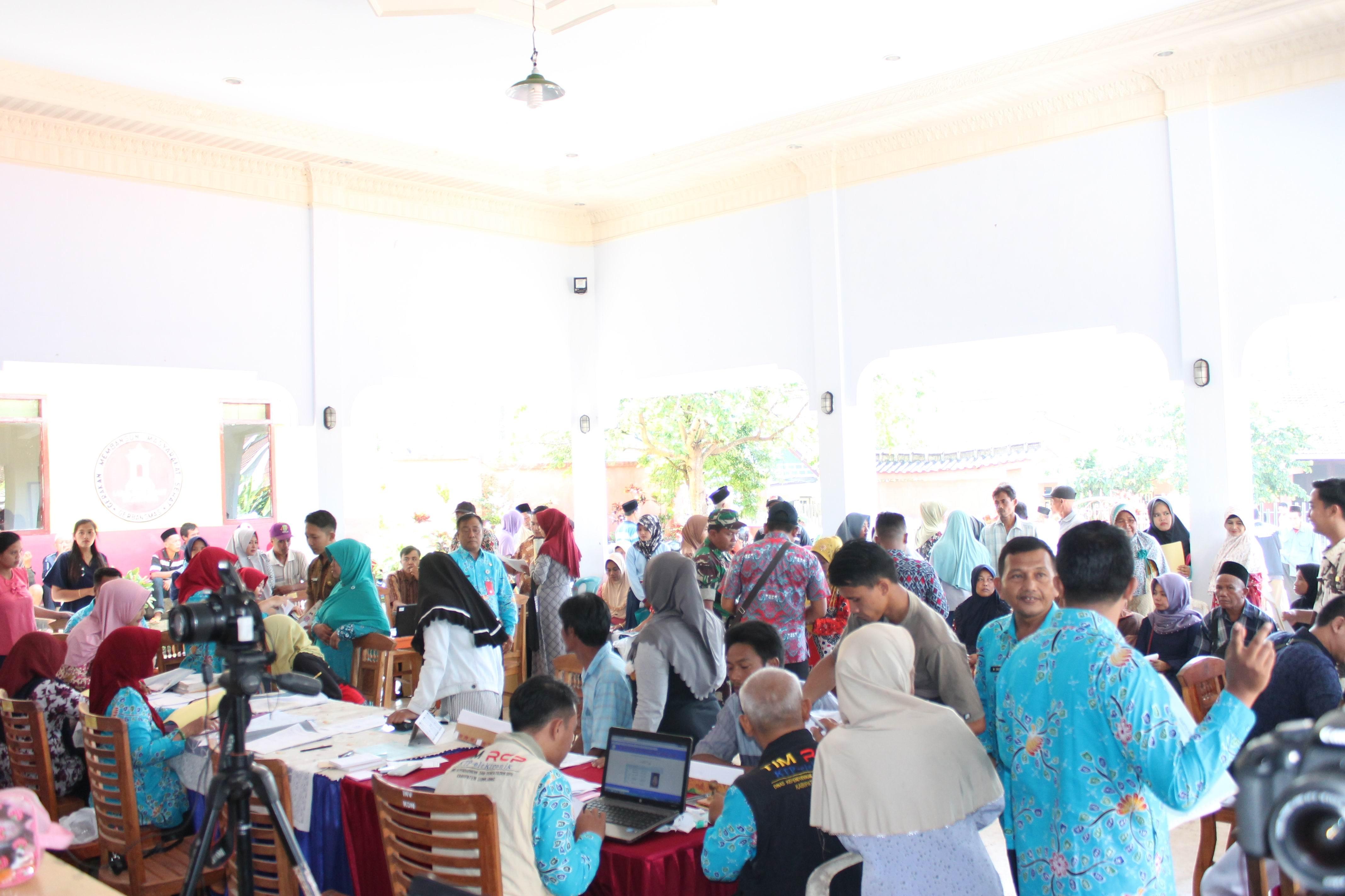 Roadshow Pelayanan Adminduk Hari Ke-7 : Desa  Kandangan Kecamatan Senduro