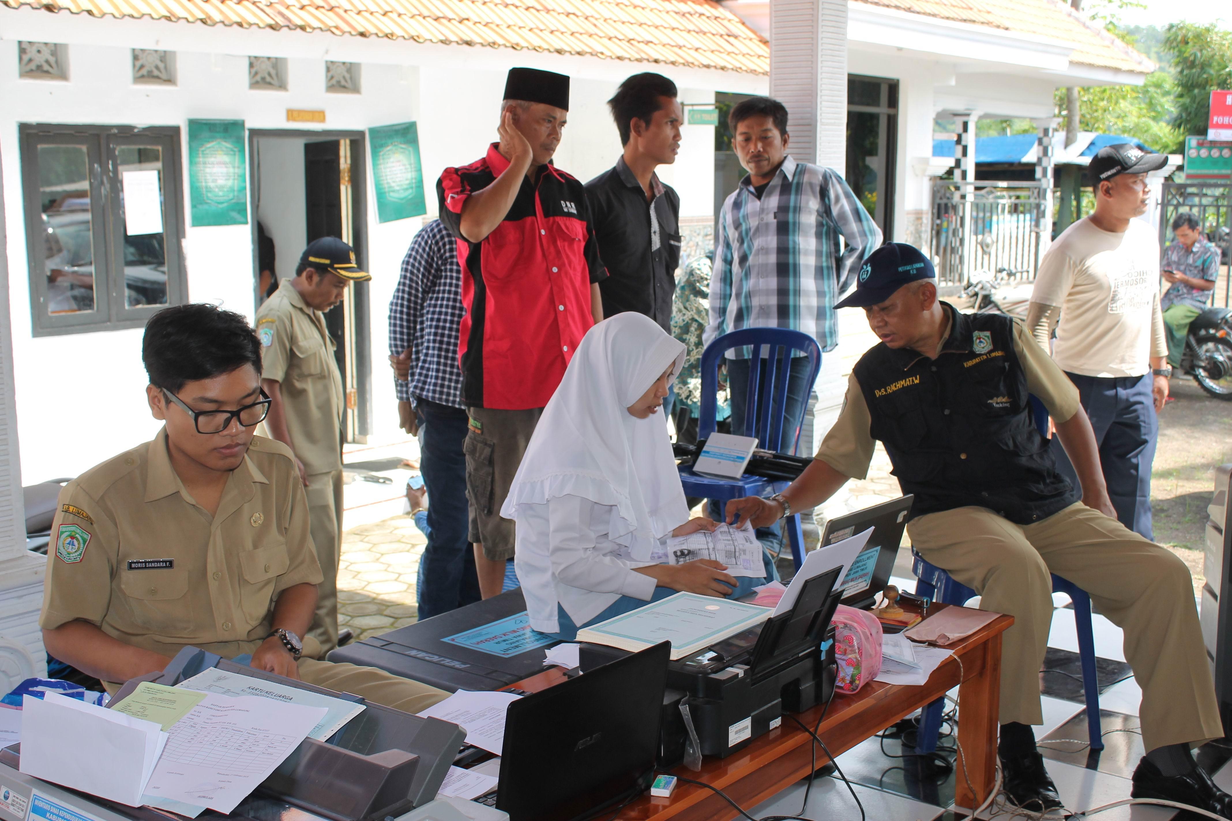 Roadshow Pelayanan Adminduk Hari Ke-10 : Desa Ranu Bedali Kecamatan Ranuyoso