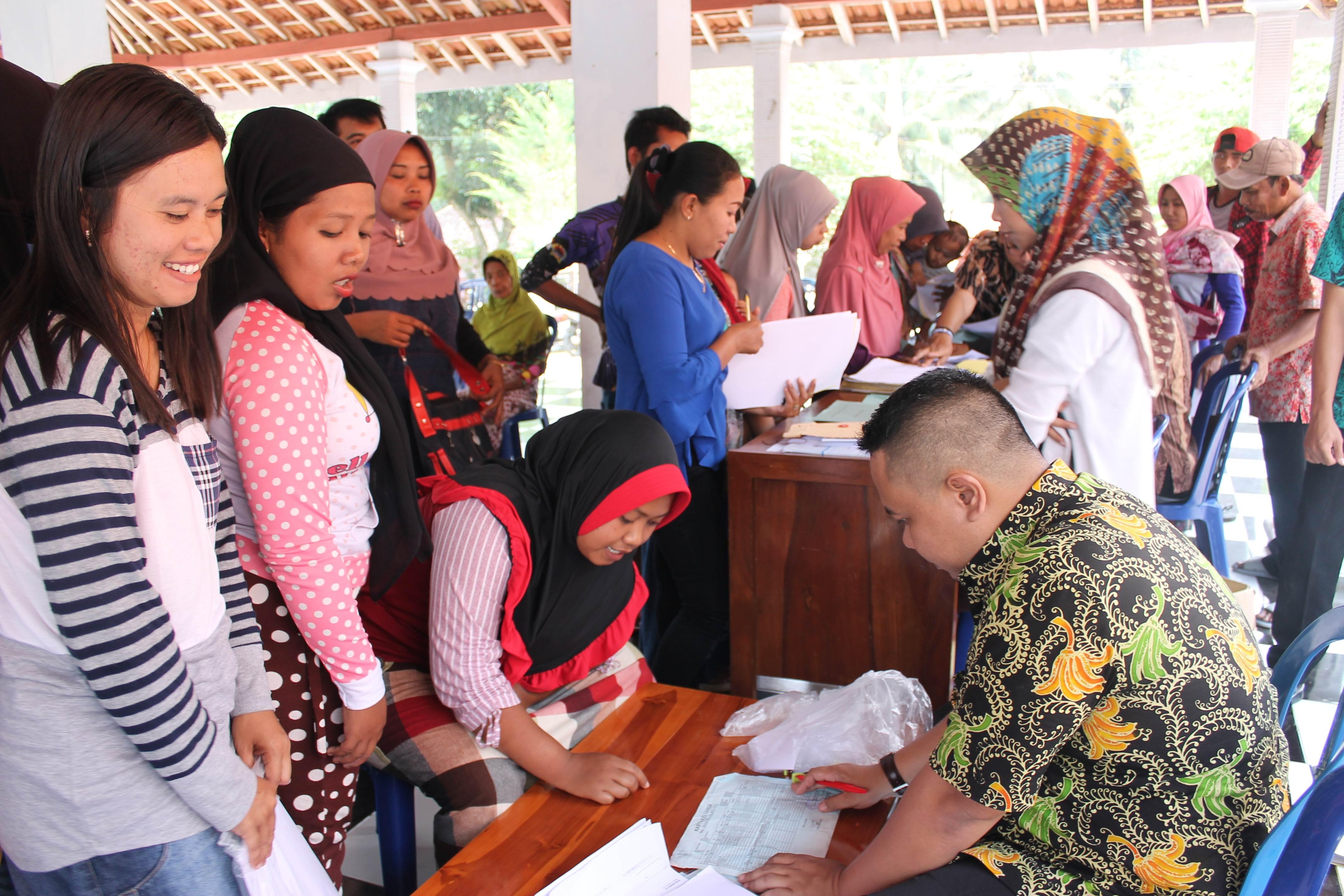 Roadshow Pelayanan Adminduk Hari Ke-11 : Desa Ranu Bedali Kecamatan Ranuyoso