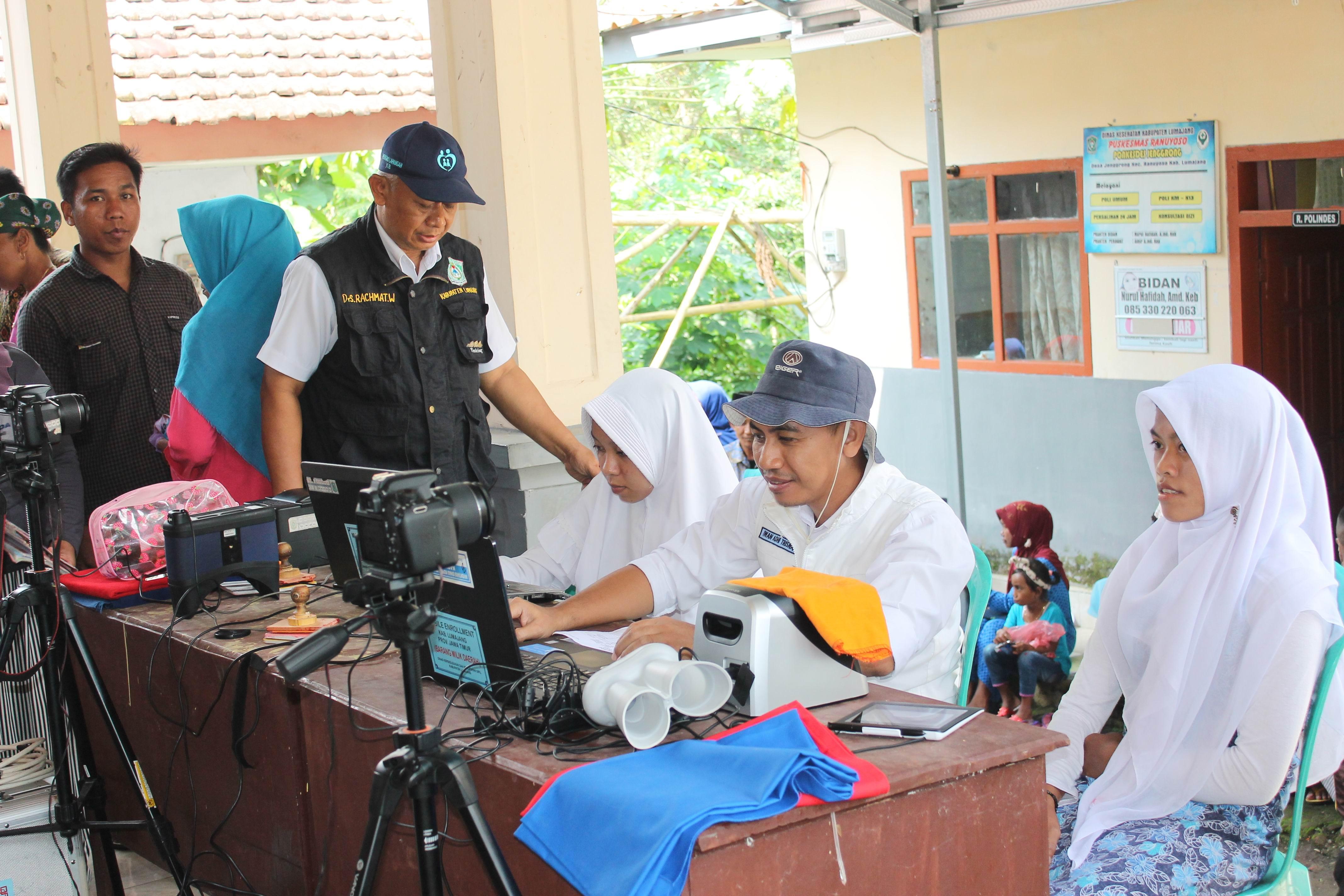 Roadshow Pelayanan Adminduk Hari Ke-12 : Desa Jenggrong Kecamatan Ranuyoso