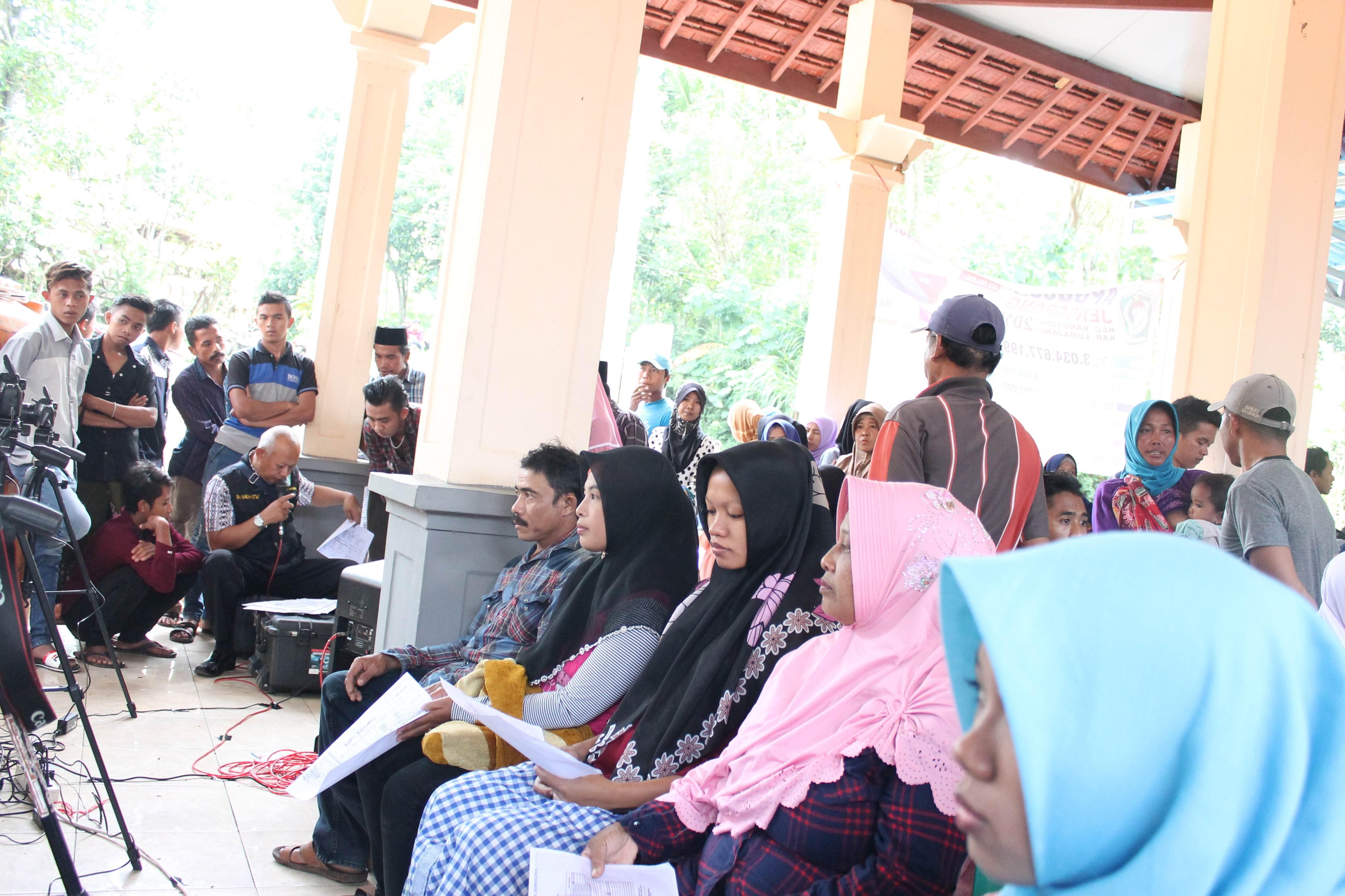 Roadshow Pelayanan Adminduk Hari Ke-13 : Desa Jenggrong Kecamatan Ranuyoso