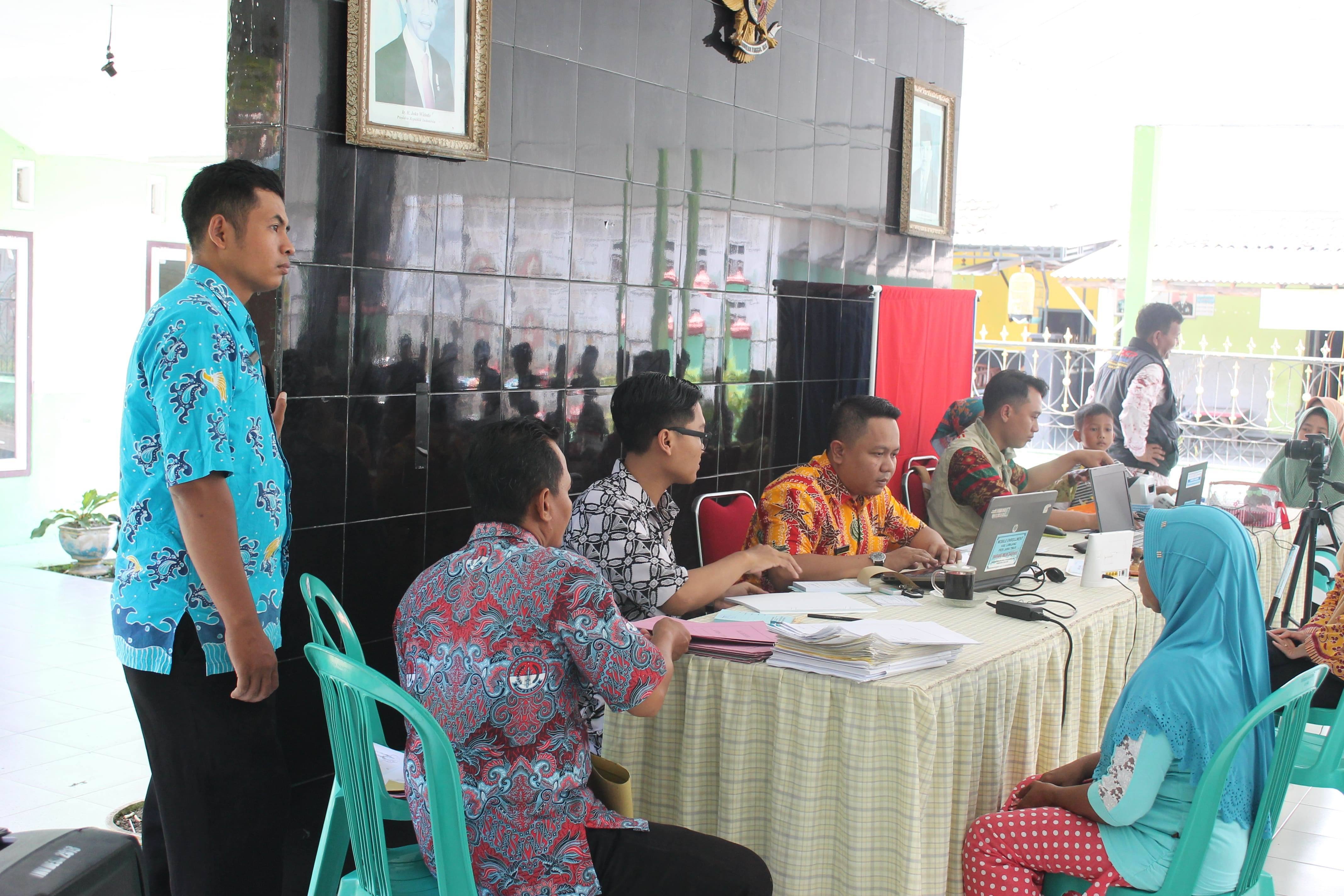 Roadshow Pelayanan Adminduk :  Desa Wonosari Kecamatan Tekung