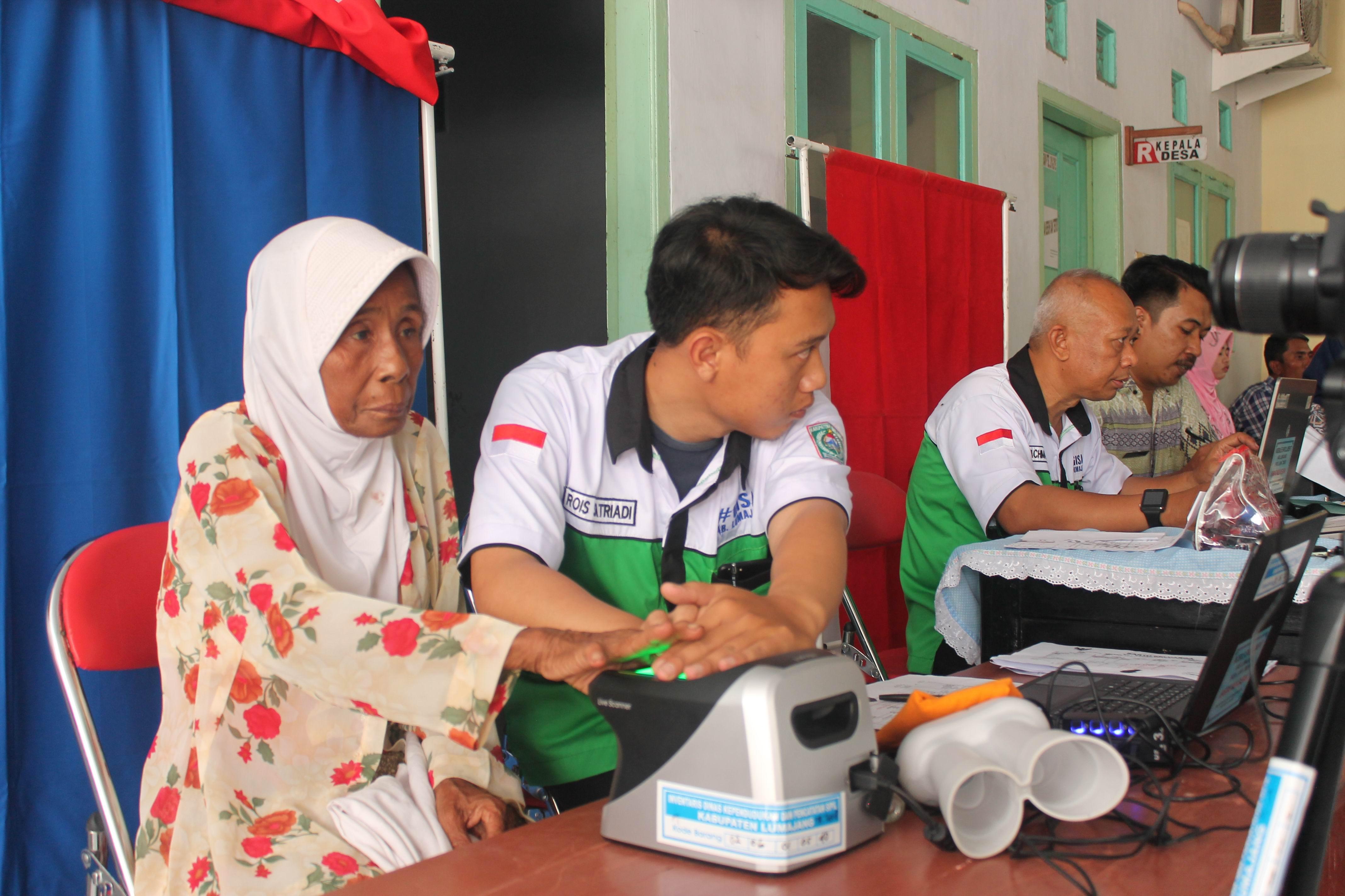 Roadshow Pelayanan Adminduk : Desa Kaliwungu Kecamatan Tempeh