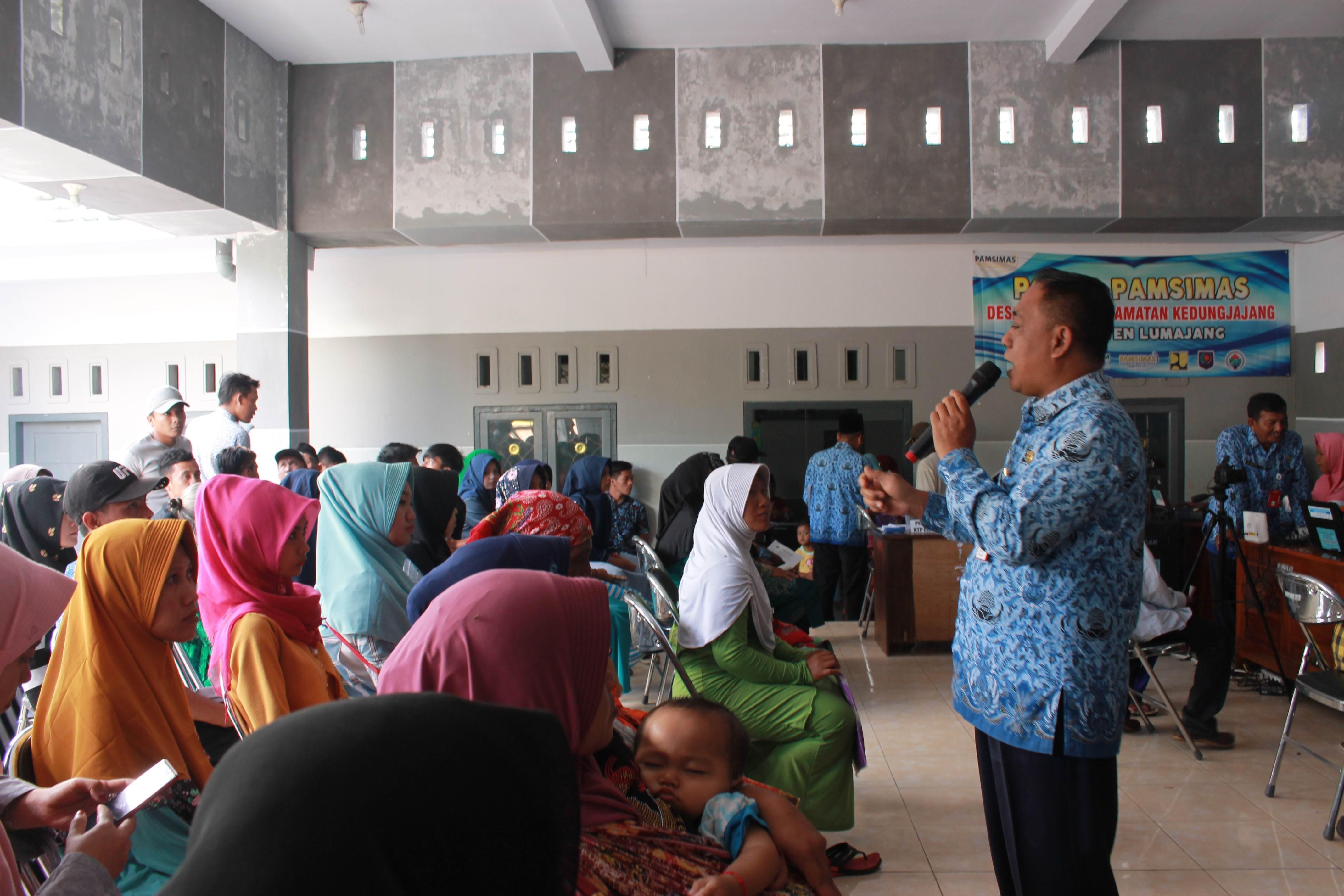 Roadshow Pelayanan Adminduk Hari Ke-1 : Desa Jatisari Kecamatan Kedungjajang