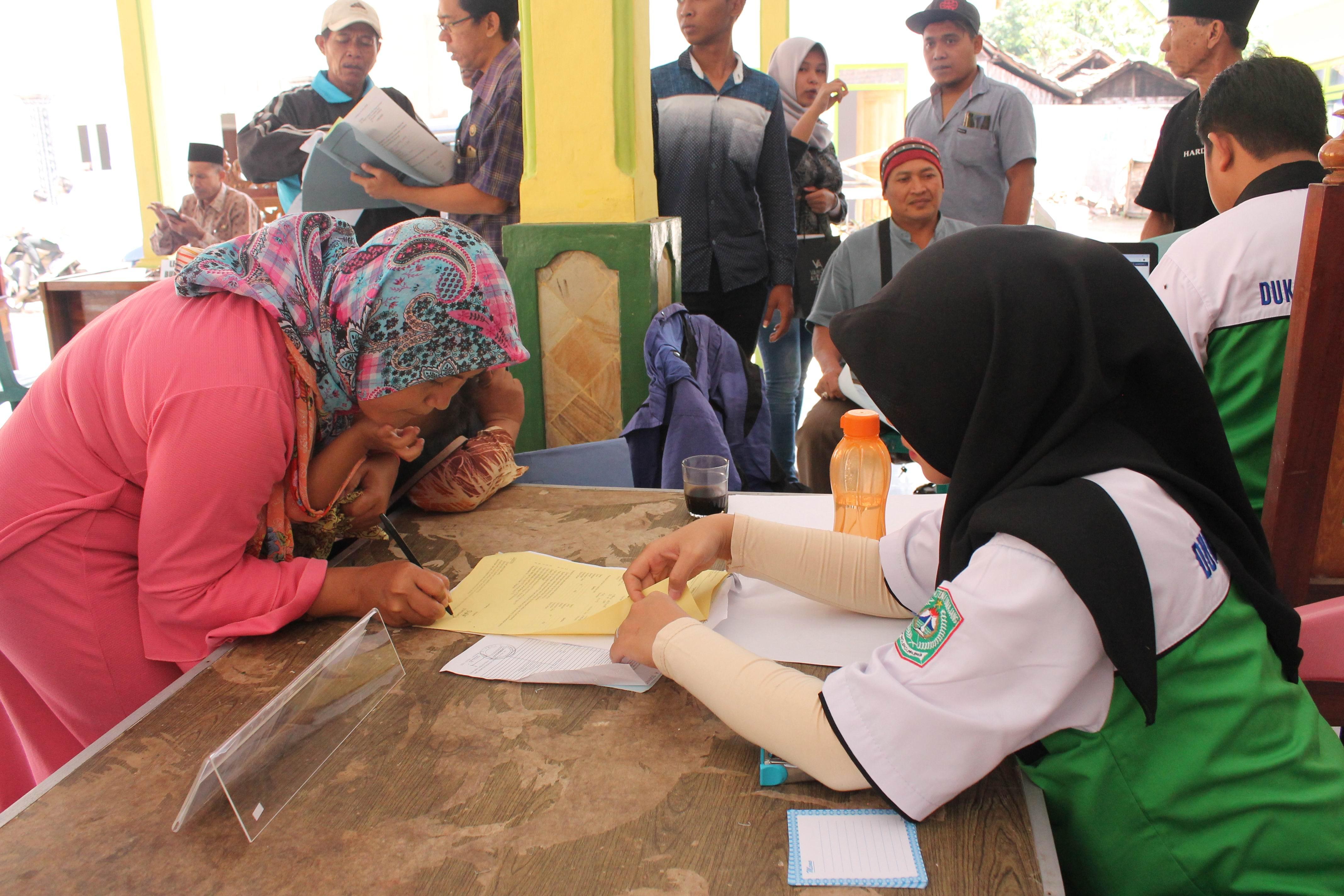 Roadshow Pelayanan Adminduk Hari Ke-4 : Desa Krasak Kecamatan Kedungjajang