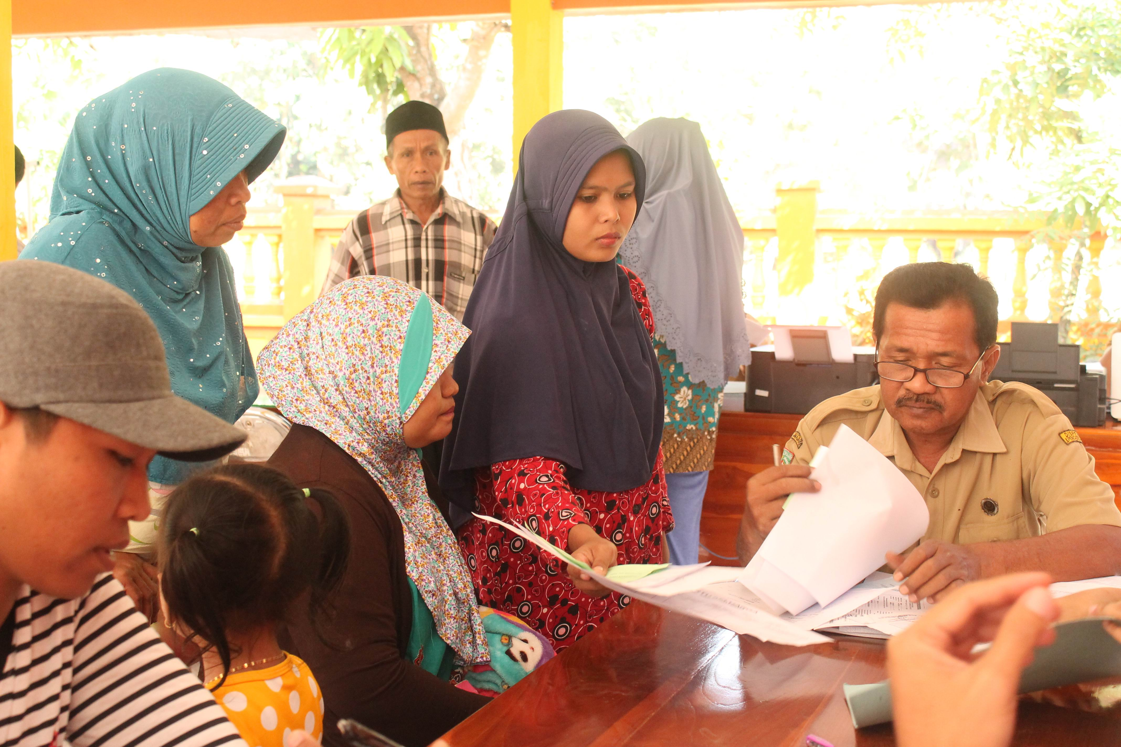 Roadshow Pelayanan Adminduk Hari Ke-5 : Desa Umbul Kecamatan Kedungjajang
