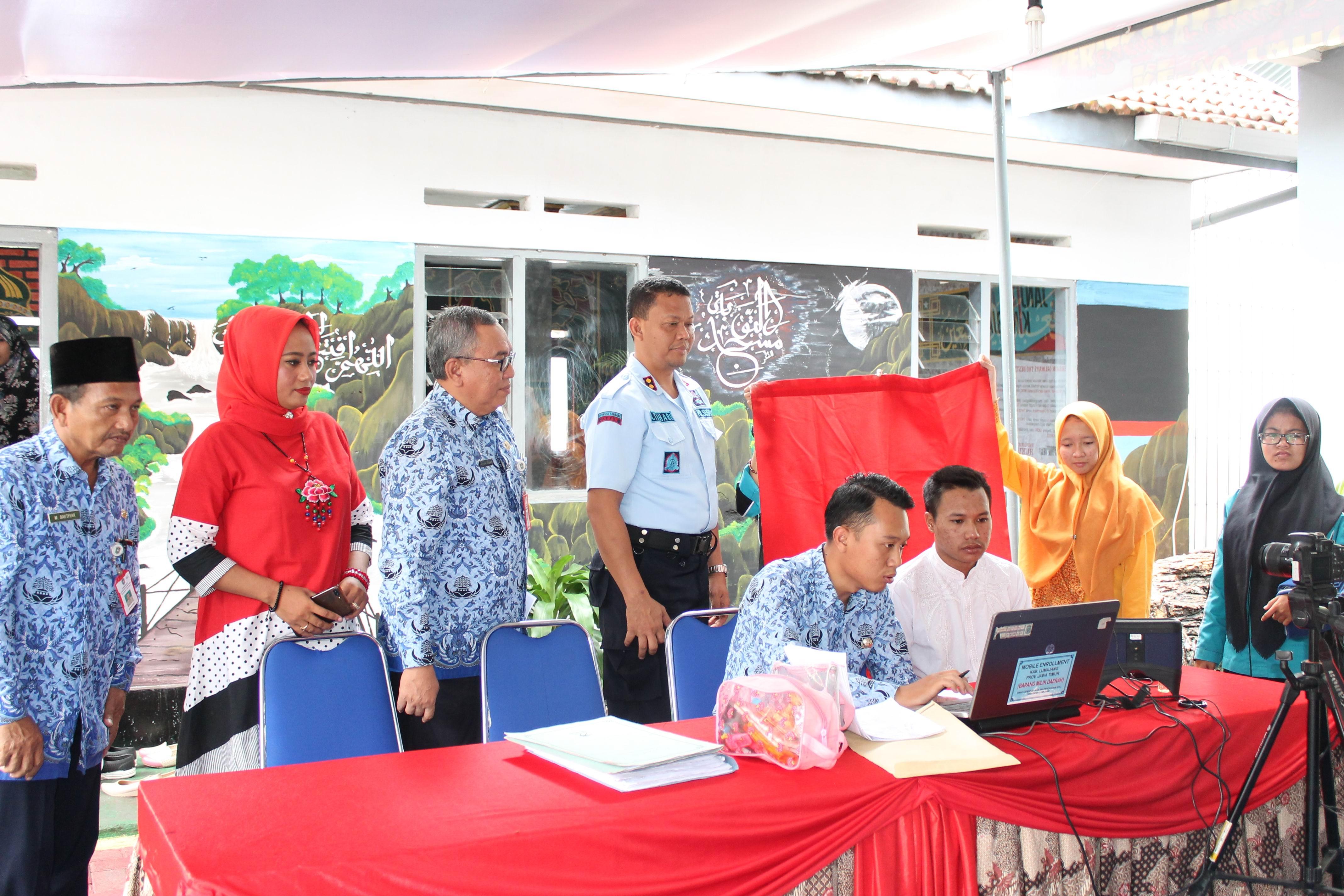 Perekaman KTP-Elektronik Serentak di Lapas dan Rutan Se-Indonesia